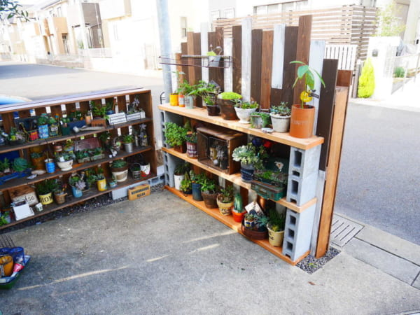 簡単DIYで手軽に屋外収納スペース9