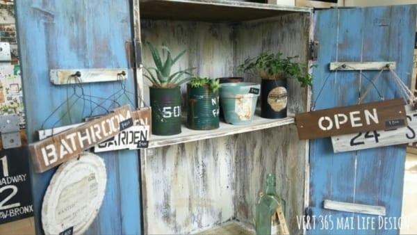 簡単DIYで手軽に屋外収納スペース6