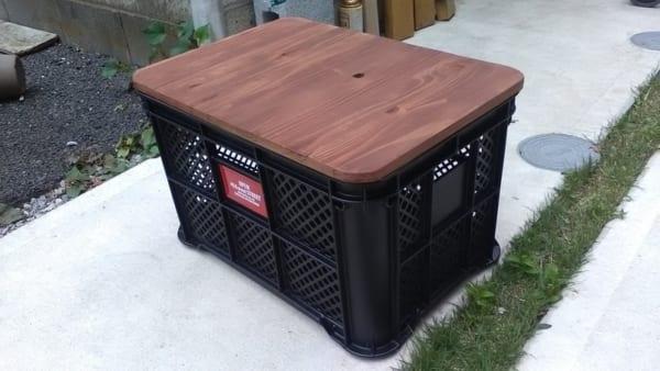 屋外収納の便利アイテムをDIY2