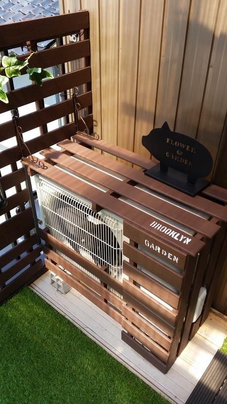 簡単DIYで手軽に屋外収納スペース11