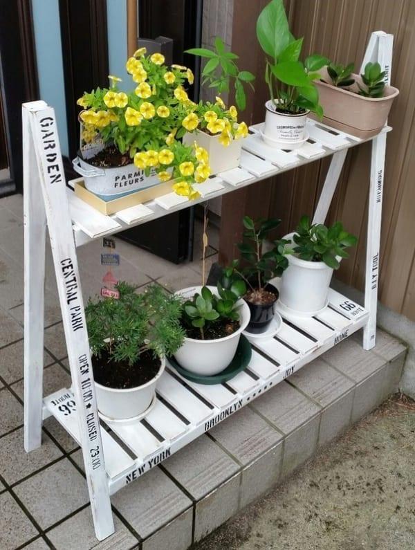 屋外収納の便利アイテムをDIY4