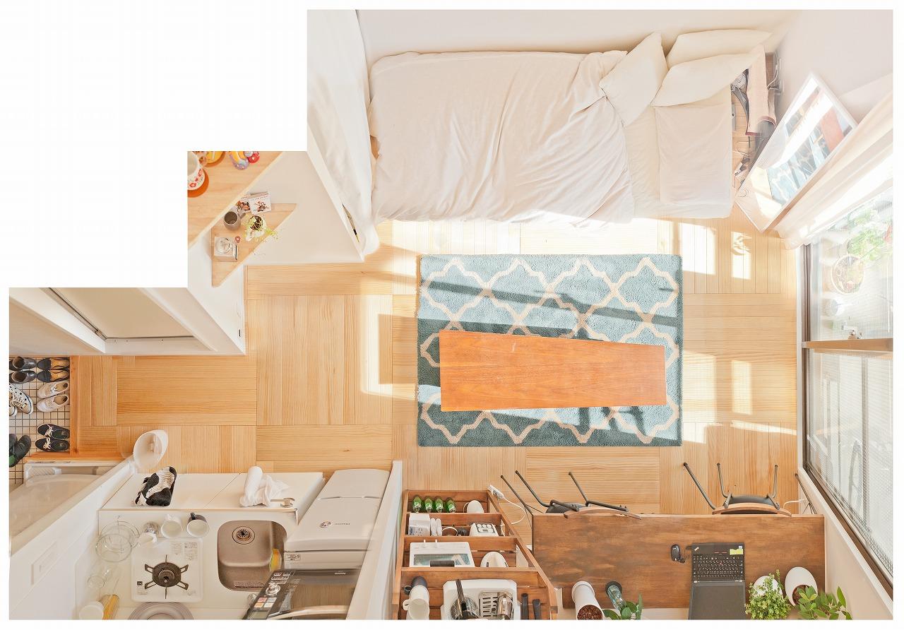 部屋が横長の例5