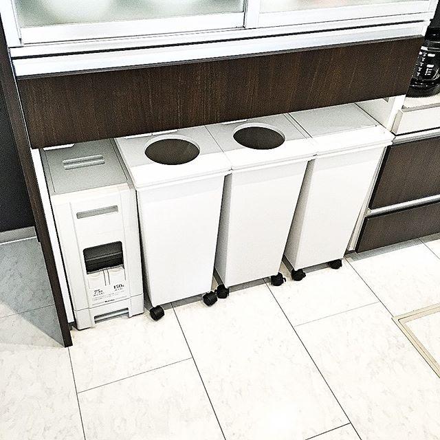 ゴミ箱収納スペース実例集2