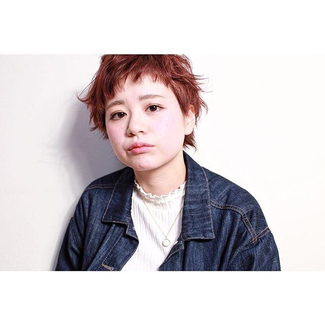髪型に合わせた種類別パーマ⑤外国人風パーマ2