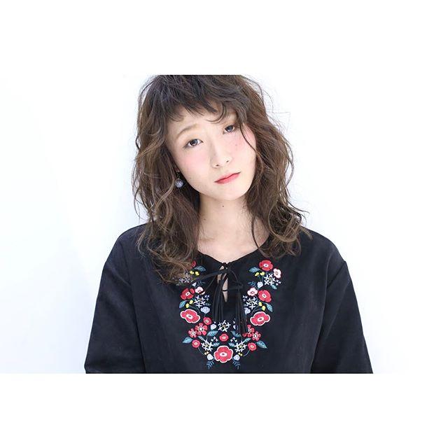髪型別おすすめパーマスタイル③ミディアム4