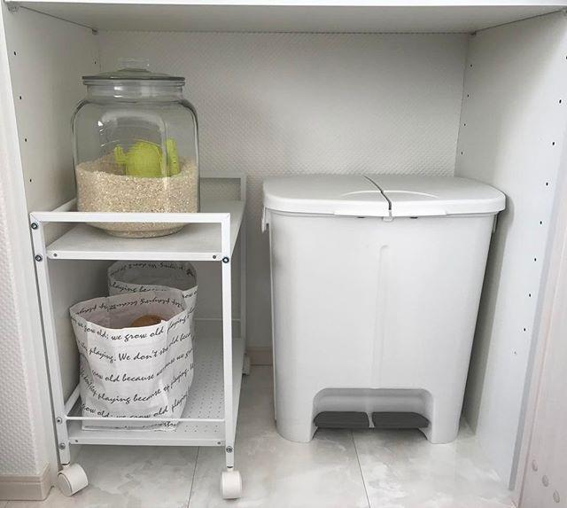ゴミ箱収納スペース実例集29