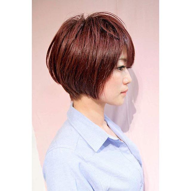 髪型別おすすめパーマスタイル②ボブ4