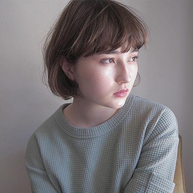 髪型に合わせた種類別パーマ⑤外国人風パーマ5
