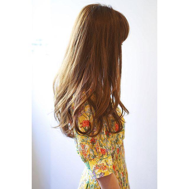 髪型別おすすめパーマスタイル④ロング3