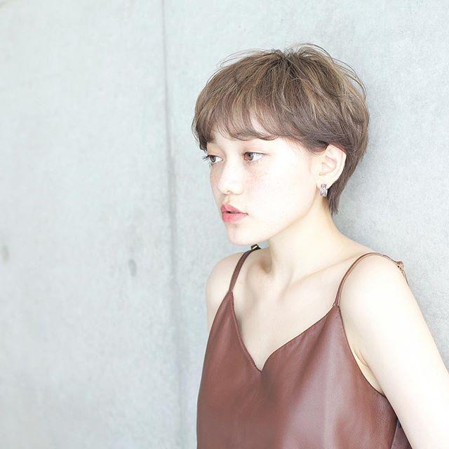 髪型別おすすめパーマスタイル①ショートヘア