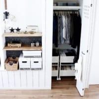 溢れるお洋服をすっきりお洒落に収納しよう♬すぐ真似したくなる収納アイデアをご紹介!