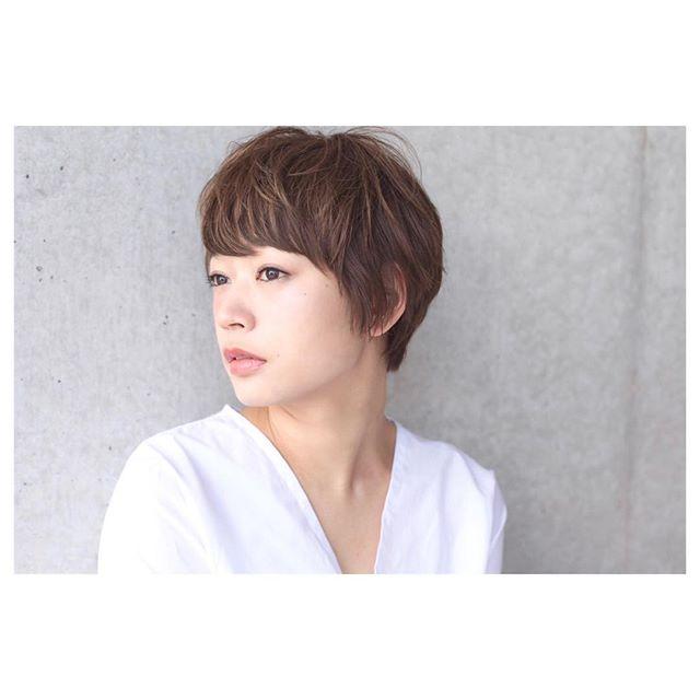 髪型別おすすめパーマスタイル①ショートヘア5