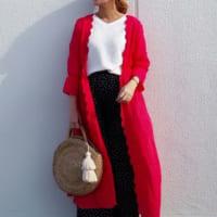 《GUドット柄パンツ》の着こなしまとめ☆トレンドアイテムを上手に着こなす女性たち。