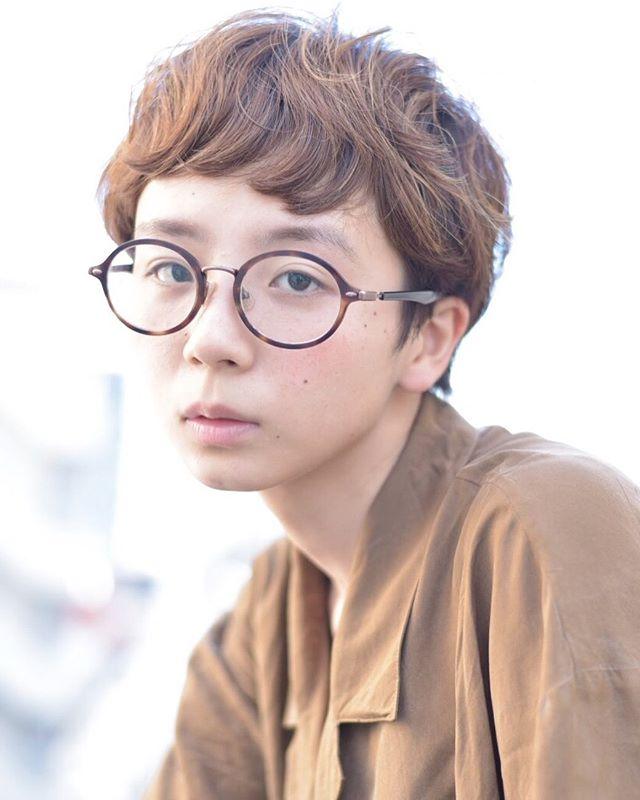 髪型に合わせた種類別パーマ⑤外国人風パーマ3