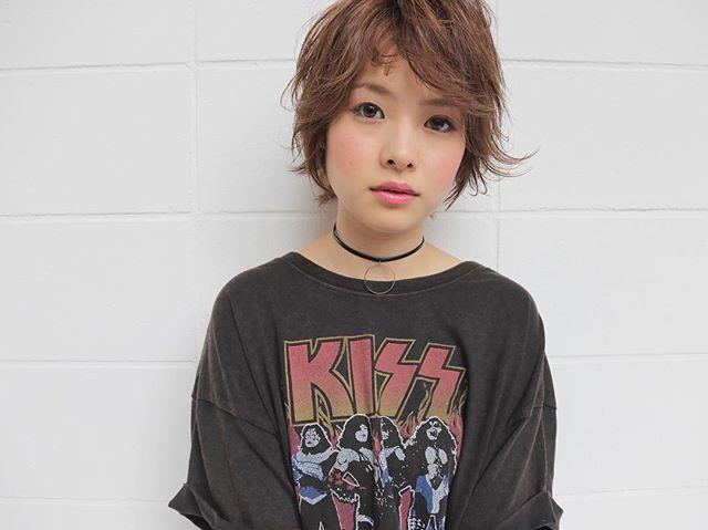 髪型別おすすめパーマスタイル①ショートヘア6