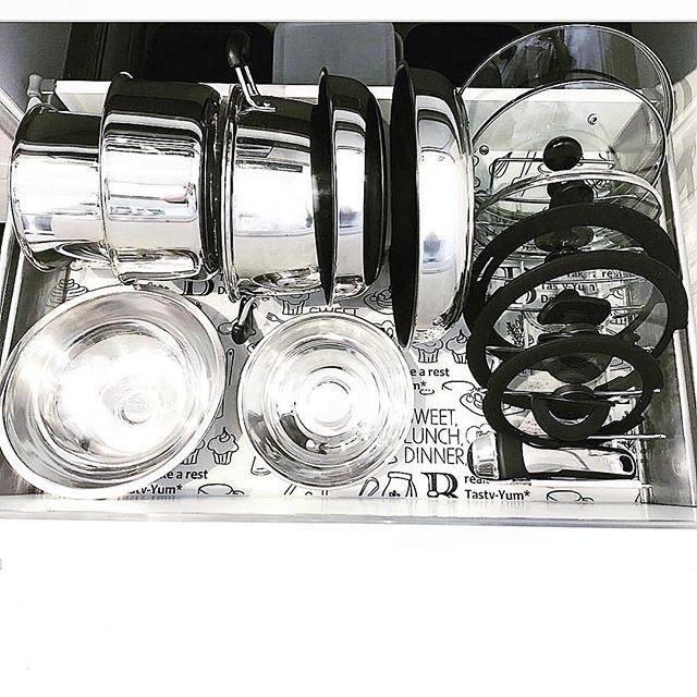 フライパン・鍋の収納2