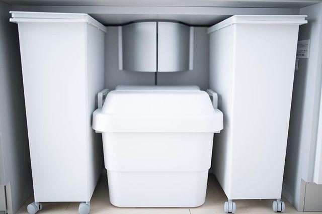 ゴミ箱収納スペース実例集22