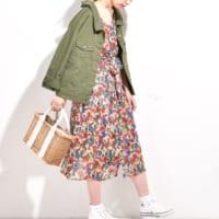 春は花柄ワンピースで決めよう♡着るだけでテンションが上がる、大人女子コーデ特集♪