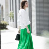 ロングスカートが気になる♡春風になびかせて颯爽とお出かけしよう!