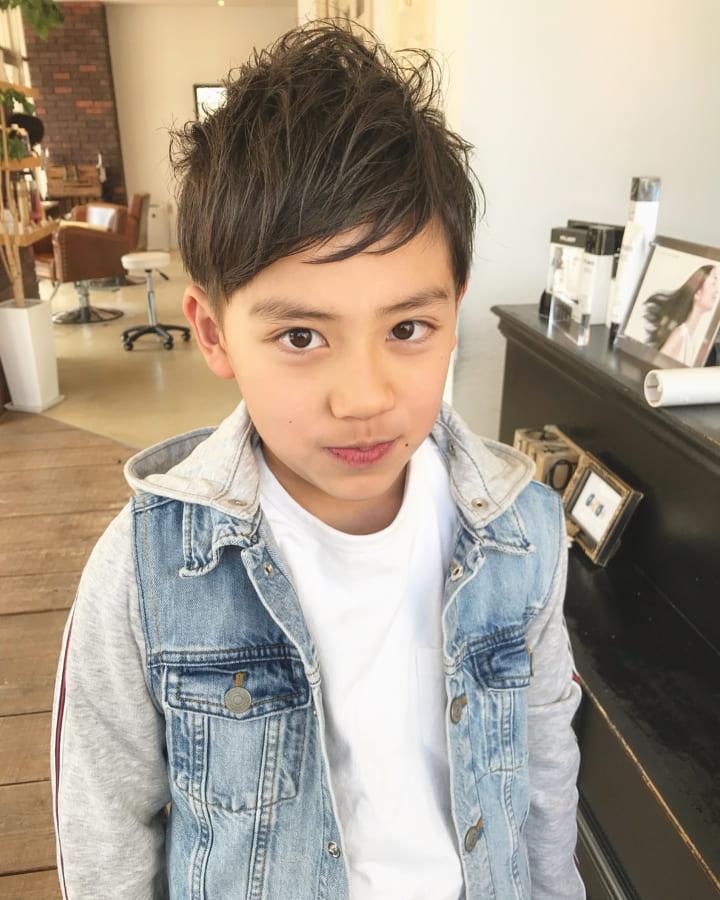 髪型 短髪 子供