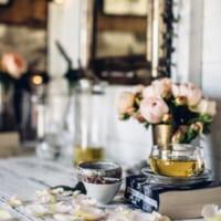 ブレイクタイムを優雅に!植物を使ったテーブルコーディネートのアイディア