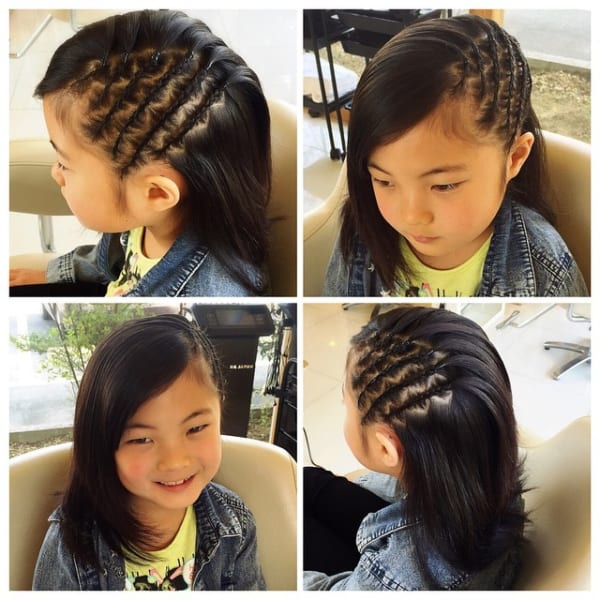 ジャスミン 髪型 子供