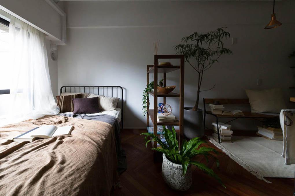 部屋が縦長の例2