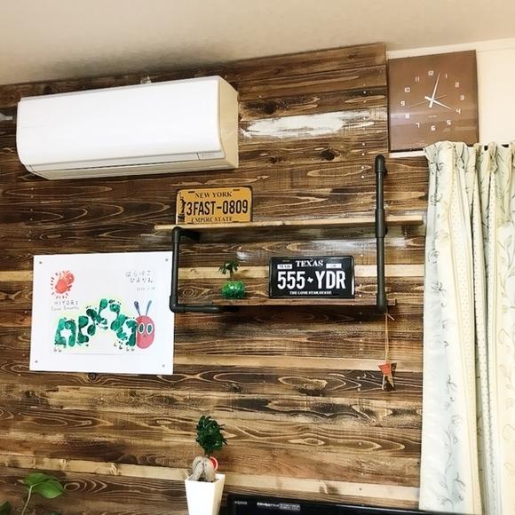 ラブリコを使ったDIYアイデア集 板壁