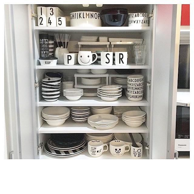 マグカップ収納 食器棚6