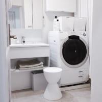 もう存在感が気にならない!洗濯機まわりのおしゃれなインテリアをご紹介します☆