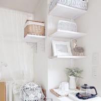 壁は大事な収納&ディスプレイスペース!壁面を活用したDIYシェルフをご紹介☆
