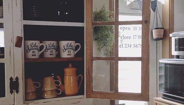 マグカップ収納 食器棚