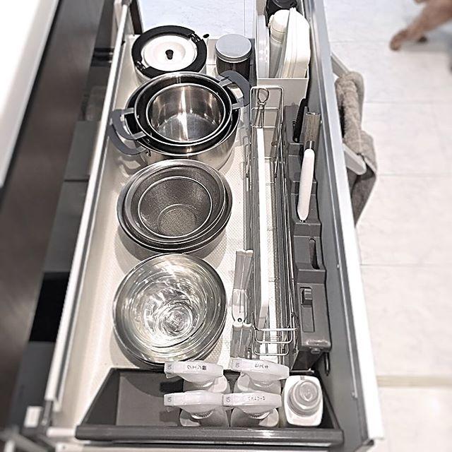 ステンレスキッチン キャビネット2