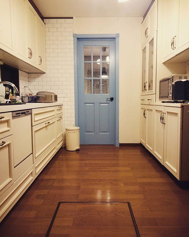 壁付けキッチン