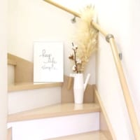 階段周りをおしゃれに見せる!デコレーション方法をご紹介します☆