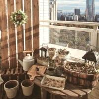 狭いスペースでも屋外を楽しめる!快適空間を作るテラスやベランダのインテリア実例