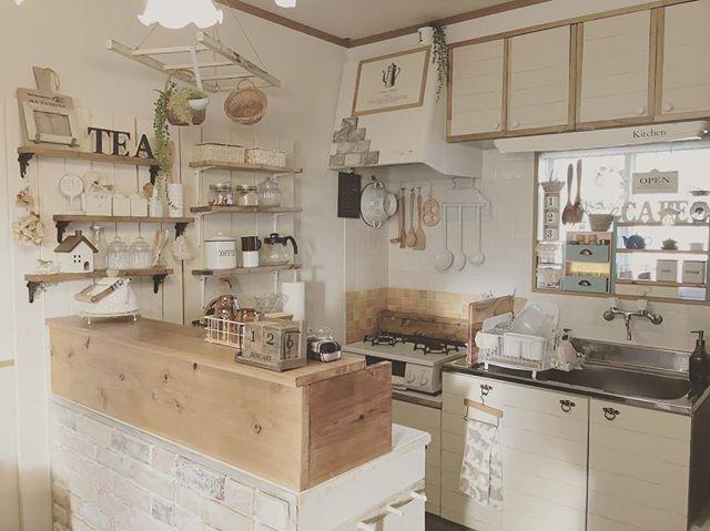 壁付けキッチン6