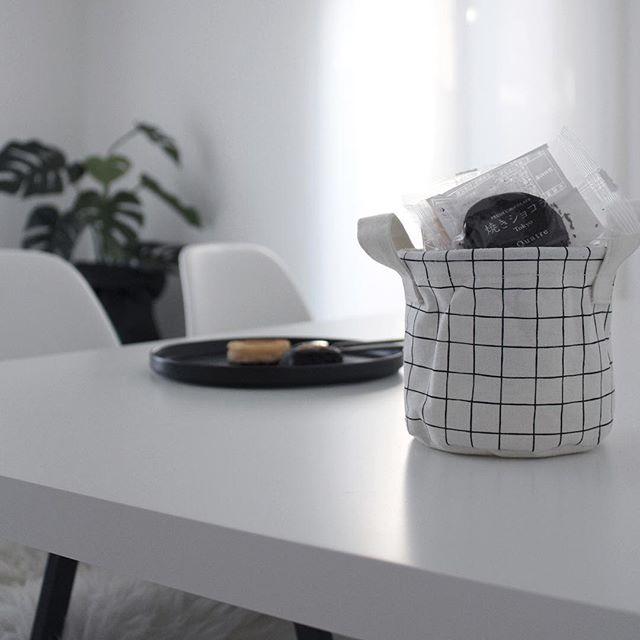キッチンのかご収納アイデア11