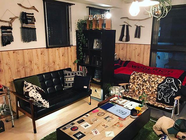 一人暮らし 家具 配置5