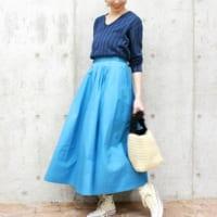 きれい色を楽しもう♡鮮やかカラーの春スカートで大人コーディネート