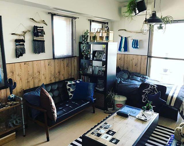一人暮らし 家具 配置6