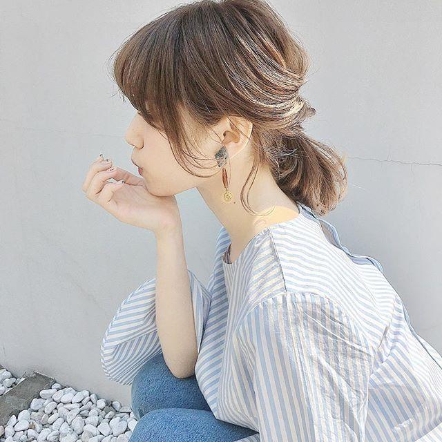 おしゃれなまとめ髪アレンジ特集7