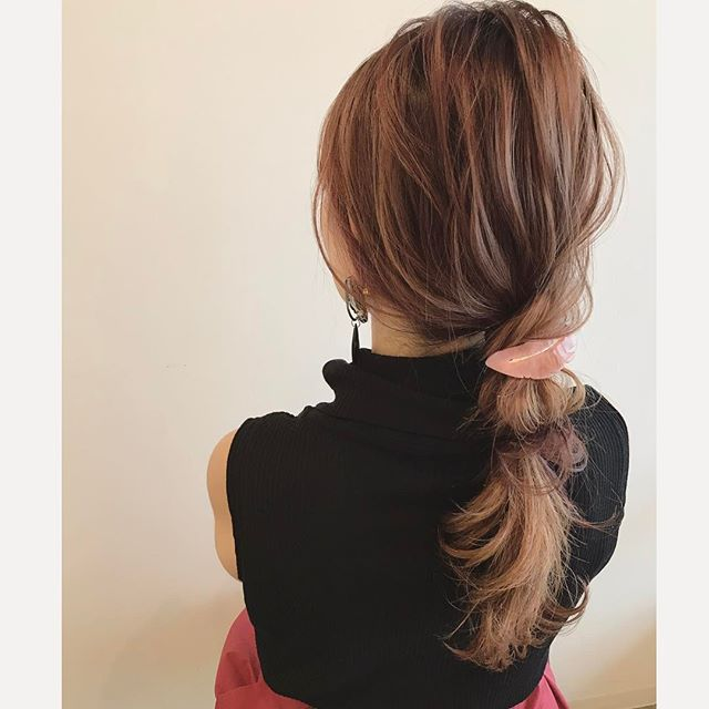 簡単まとめ髪8
