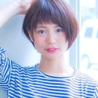 ショートヘアはストレートがイマっぽい♡お洒落なショートヘアカタログ50選