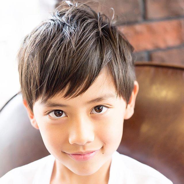 男の子 髪型 マッシュルーム