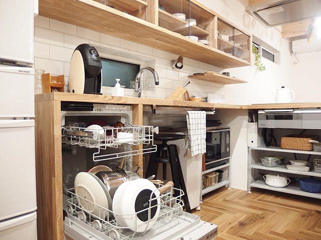 コの字型キッチン2