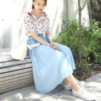 プチプラMIXのカラフルコーデ♡春夏は、明るいカラーが狙い目!
