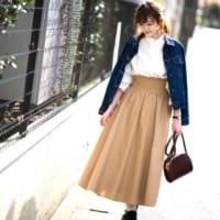 【GU・ユニクロ】のスカートで♡プチプラでも高見えするおしゃれコーデの作り方!