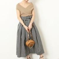 夏日を快適に過ごそう!「スカート」で涼しげ&体型カバーができるコーデ♪