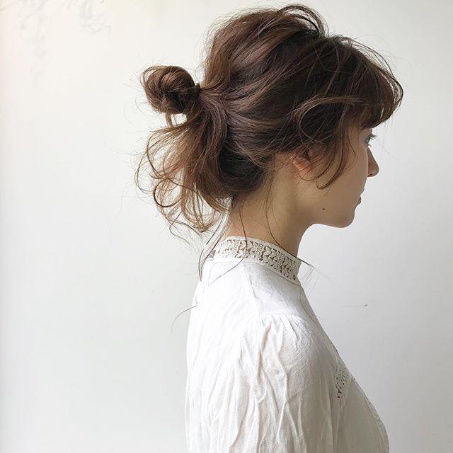 おしゃれなまとめ髪アレンジ特集12